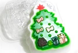 Новогодние пластиковые формы
